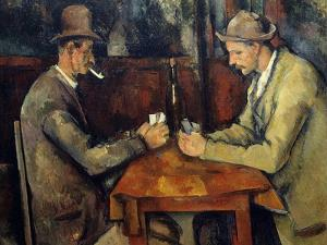The Cardplayers, 1890-95 by Paul Cezanne