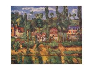 The Chateau of Medan, c1880, (1936) by Paul Cezanne