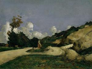 The Country Road, c.1871 by Paul Cezanne