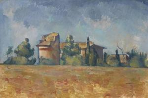 The Dovecote at Bellevue, 1888-92 by Paul Cezanne