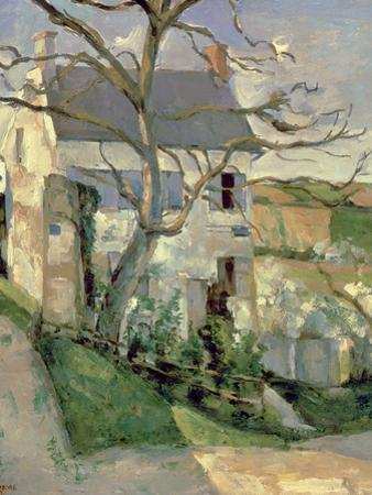 The House and the Tree, C.1873-74 by Paul Cézanne