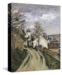 The House of Dr. Gachet at Auvers, c.1873 by Paul Cézanne