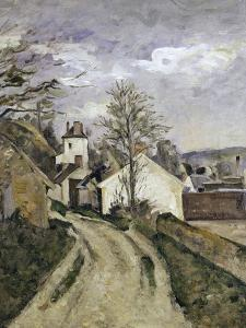 The House of Dr. Gachet at Auvers, c.1873 by Paul Cézanne