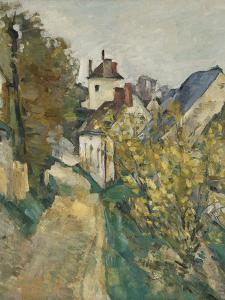 The House of Dr. Gachet in Auvers-sur-Oise, 1872-3 by Paul Cezanne