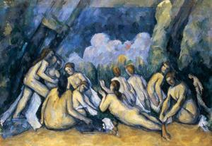 The Large Bathers, circa 1900-05 by Paul Cézanne