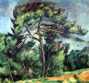 The Large Pine, circa 1889 by Paul Cézanne