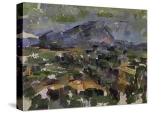 The Mont Sainte-Victoire, 1905 by Paul Cézanne