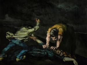 The Murder, 1868 by Paul Cézanne