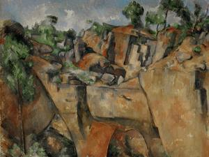 The Quarry at Bibemus, circa 1895 by Paul Cézanne