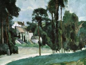 The Road at Pontoise, 1875 by Paul Cézanne