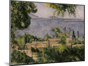 The Rooftops of l'Estaque, 1883-85 by Paul Cézanne
