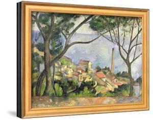 The Sea at L'Estaque, 1878 by Paul Cézanne