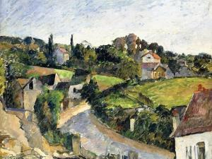 The Winding Road, C.1877 by Paul Cézanne