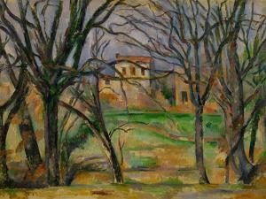 Trees and Houses, circa 1885 by Paul Cézanne
