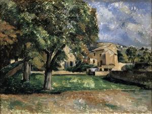 Trees in a Park, Jas De Bouffan, 1885-1887 by Paul Cézanne