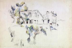 View of the Château Noir by Paul Cézanne