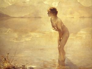 Chabas: September Morn by Paul Chabas
