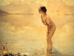 September Morn, 1912 by Paul Chabas