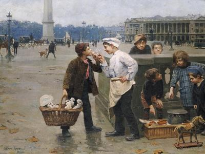 The Little Traders, 1900