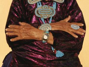 A Person Wears Turquiose Jewelry by Paul Chesley
