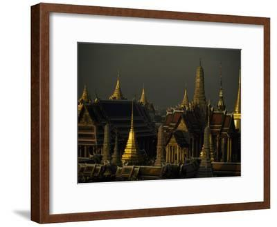 Roofs, Spires, and Steeples in the Grand Palace Complex, Bangkok