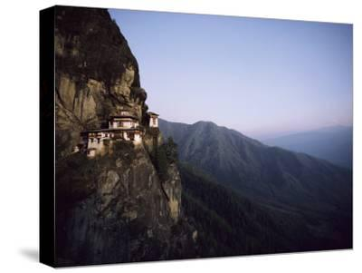 Tigers Den, a Buddhist Monastery, Clings to a Cliff in Bhutan