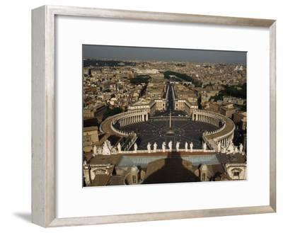 View of Rome from Atop the Vatican