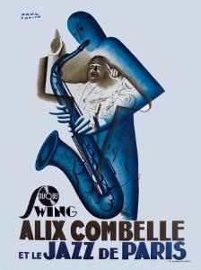 Alix Combelle, Jazz Paris by Paul Colin