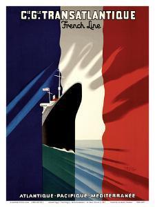 Atlantic-Pacific-Mediterranean by Paul Colin