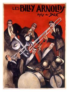 Billy Arnold Jazz Band Music by Paul Colin