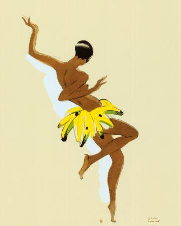 Black Thunder, Josephine Baker by Paul Colin