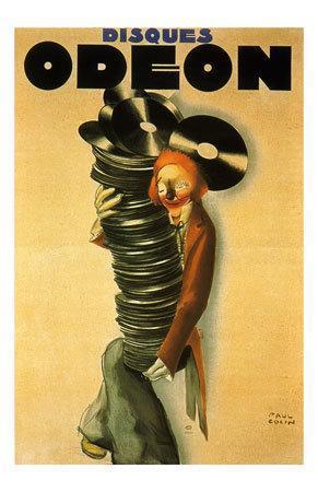 Paul Colin  The Blackbirds Jazz  Poster Print