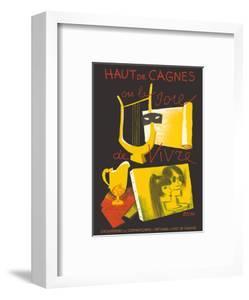 Haut de Cagnes, France - The Joy of Living (La Joie de Vivre) by Paul Colin