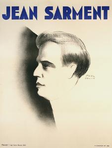 Jean Sarment by Paul Colin