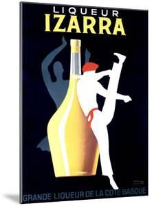 Liqueur Izarra by Paul Colin
