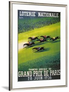 Loterie Nationale by Paul Colin