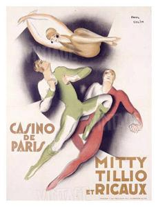 Mitty Tillio and Ricaux by Paul Colin