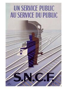 S.N.C.F by Paul Colin