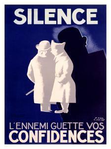 Silence by Paul Colin