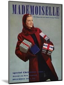 Mademoiselle Cover - December 1942 by Paul D'Ome