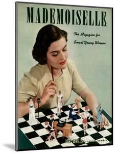 Mademoiselle Cover - July 1938 by Paul D'Ome