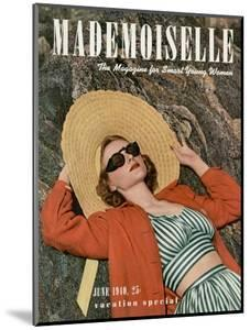 Mademoiselle Cover - June 1940 by Paul D'Ome