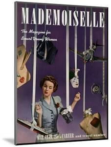 Mademoiselle Cover - May 1939 by Paul D'Ome