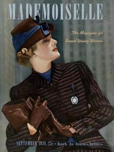 Mademoiselle Cover - September 1938 by Paul D'Ome