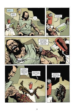 Zombies vs. Robots: No. 7 - Comic Page with Panels