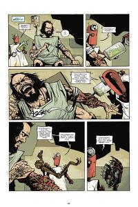 Zombies vs. Robots: No. 7 - Comic Page with Panels by Paul Davidson