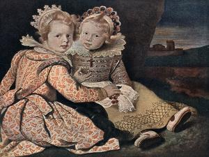 Daughters of the Painter, 17th Century by Paul de Vos
