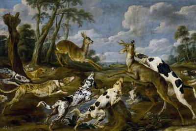 Paul de Vos / Deer Hunting, 1637-1640