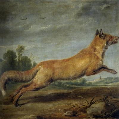 Paul de Vos / Zorra corriendo, 17th century