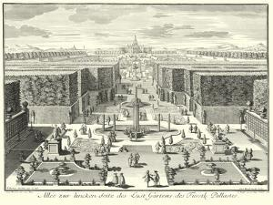 Fountains of Versailles I by Paul Decker